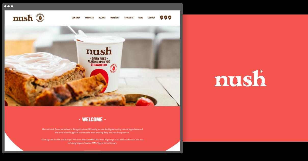 Nush Foods - Digital Design Agency