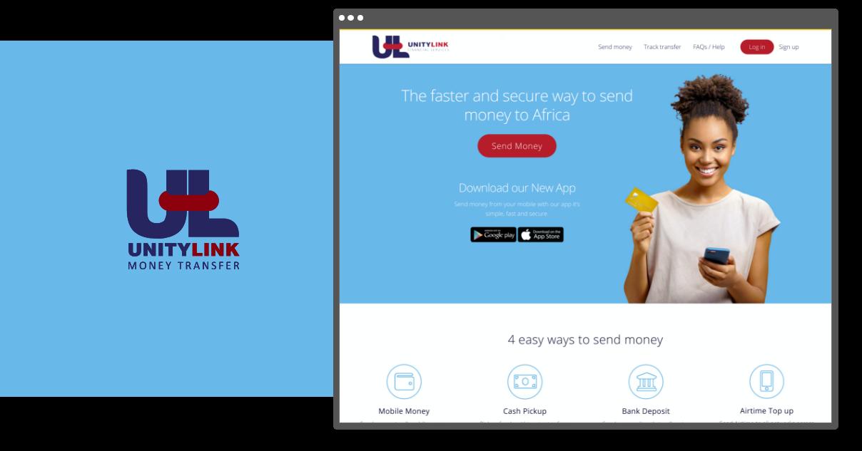 UnityLink - Web Design & Branding
